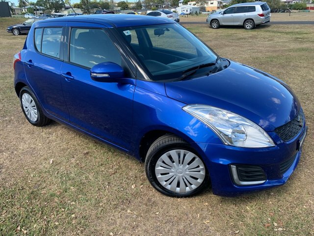 Used Suzuki Swift FZ MY14 GL, 2015 Suzuki Swift FZ MY14 GL Zrz-Boost Blue 4 Speed Automatic Hatchback