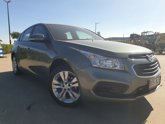 Used Holden Cruze JH Series II MY15 Equipe, 2015 Holden Cruze JH Series II MY15 Equipe Grey 5 Speed Manual Hatchback