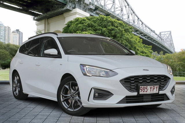 Used Ford Focus SA 2019.25MY ST-Line, 2018 Ford Focus SA 2019.25MY ST-Line White 8 Speed Automatic Wagon