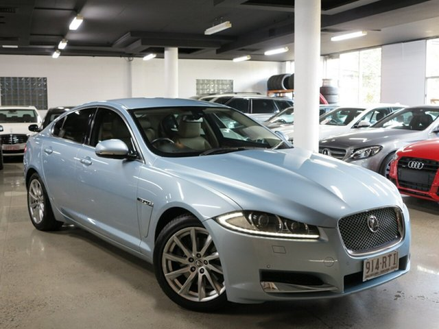 Used Jaguar XF X250 MY12 Luxury, 2011 Jaguar XF X250 MY12 Luxury Silver 8 Speed Sports Automatic Sedan
