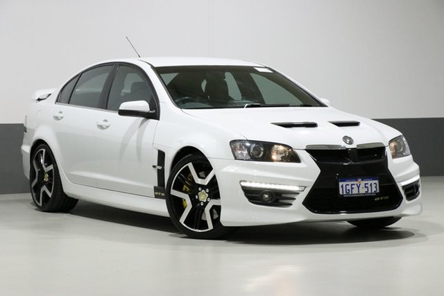 Used Holden Special Vehicles GTS E3 MY12 , 2011 Holden Special Vehicles GTS E3 MY12 White 6 Speed Manual Sedan