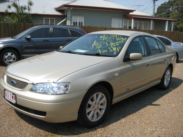 Used Ford Falcon BA Mk II Futura, 2005 Ford Falcon BA Mk II Futura Automatic Sedan