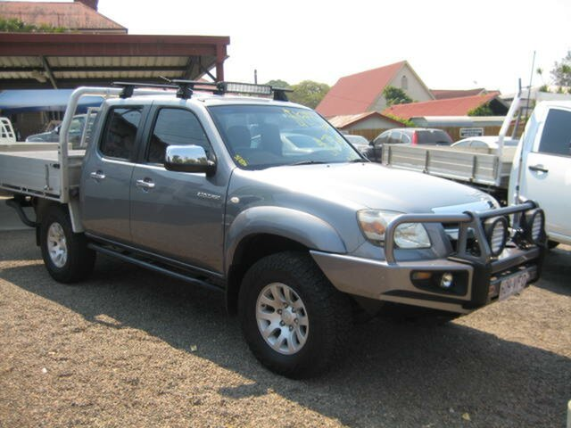 Used Mazda BT-50 UNY0E4 SDX, 2007 Mazda BT-50 UNY0E4 SDX Grey 5 Speed Manual Dual Cab