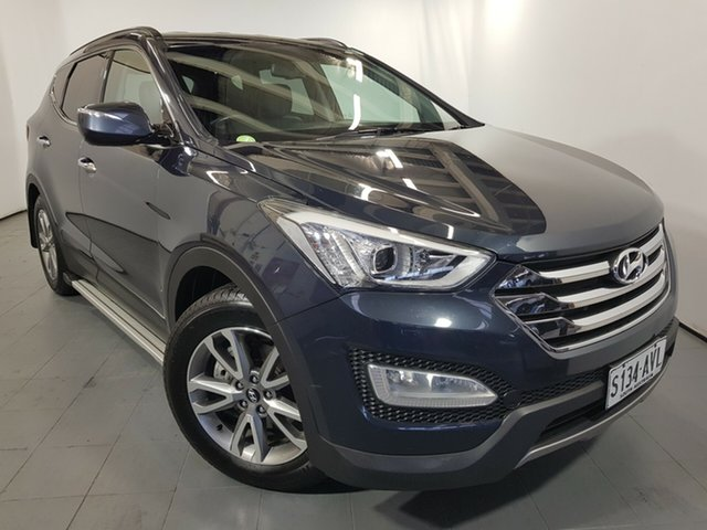 Used Hyundai Santa Fe DM MY14 Elite, 2013 Hyundai Santa Fe DM MY14 Elite Blue 6 Speed Sports Automatic Wagon