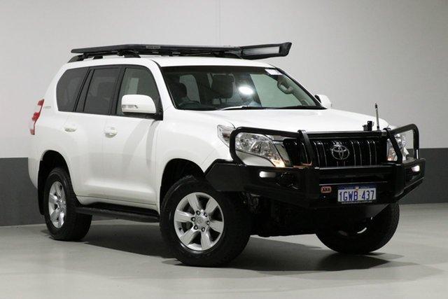 Used Toyota Landcruiser Prado GDJ150R MY16 GXL (4x4), 2015 Toyota Landcruiser Prado GDJ150R MY16 GXL (4x4) White 6 Speed Automatic Wagon
