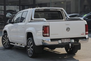 2018 Volkswagen Amarok 2H MY19 TDI580 4MOTION Perm Ultimate Candy White 8 Speed Automatic Utility.