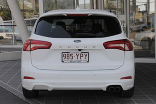 2018 Ford Focus SA 2019.25MY ST-Line White 8 Speed Automatic Wagon