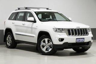 2013 Jeep Grand Cherokee WK MY13 Laredo (4x4) White 5 Speed Automatic Wagon.