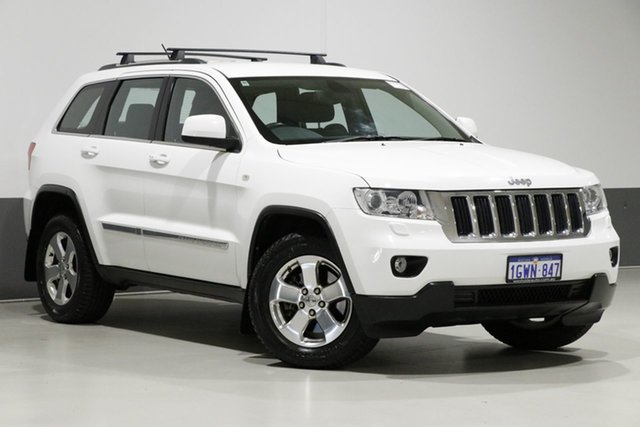 Used Jeep Grand Cherokee WK MY13 Laredo (4x4), 2013 Jeep Grand Cherokee WK MY13 Laredo (4x4) White 5 Speed Automatic Wagon