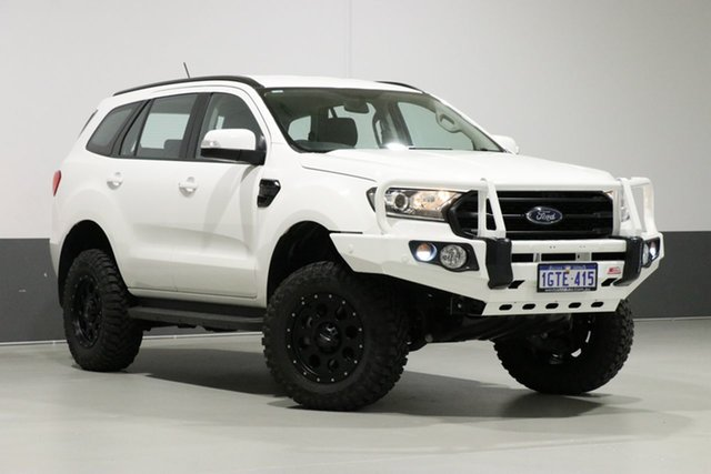 Used Ford Everest UA II MY19 Ambiente (4WD 7 Seat), 2018 Ford Everest UA II MY19 Ambiente (4WD 7 Seat) White 6 Speed Automatic Wagon