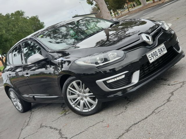 Used Renault Megane III B95 Phase 2 GT-Line EDC, 2015 Renault Megane III B95 Phase 2 GT-Line EDC Black/Grey 6 Speed Sports Automatic Dual Clutch