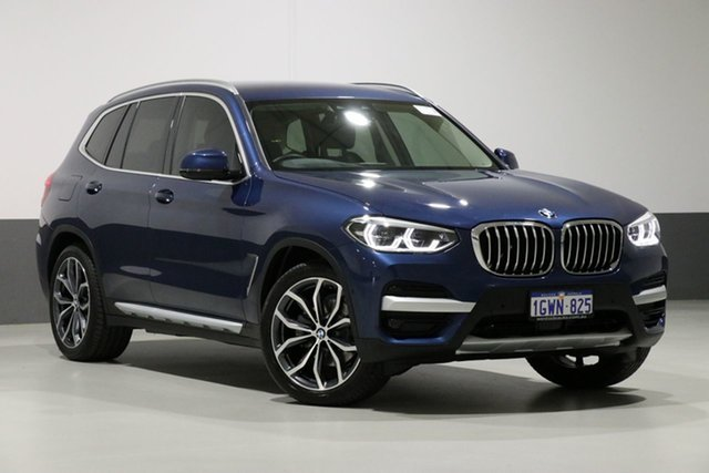 Used BMW X3 G01 MY18.5 xDrive 30I, 2018 BMW X3 G01 MY18.5 xDrive 30I Blue 8 Speed Automatic Wagon