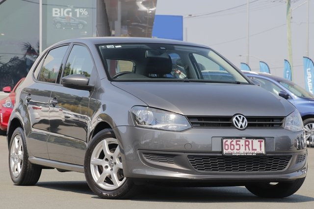 Used Volkswagen Polo 6R MY11 66TDI Comfortline, 2011 Volkswagen Polo 6R MY11 66TDI Comfortline Grey 5 Speed Manual Hatchback