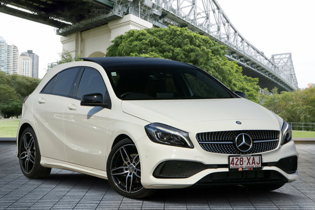 Used Mercedes-Benz A-Class W176 807MY A180 D-CT, 2016 Mercedes-Benz A-Class W176 807MY A180 D-CT White 7 Speed Sports Automatic Dual Clutch Hatchback