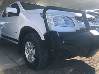 2013 Holden Colorado RG LT (4x4) White 6 Speed Automatic Crew Cab Pickup.