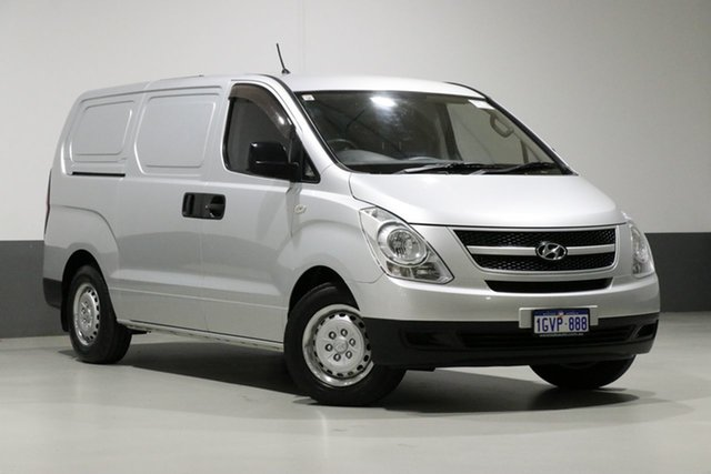 Used Hyundai iLOAD TQ , 2010 Hyundai iLOAD TQ Silver 5 Speed Manual Van