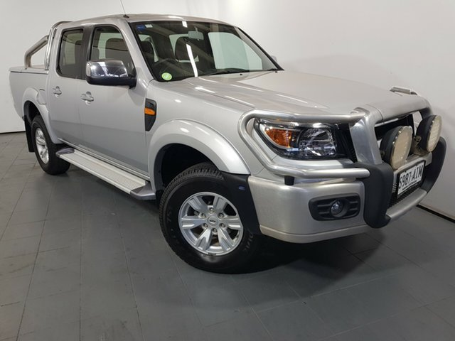 Used Ford Ranger PK XLT Crew Cab, 2010 Ford Ranger PK XLT Crew Cab Silver 5 Speed Manual Utility