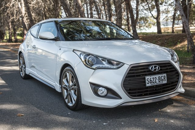 Used Hyundai Veloster FS5 Series II SR Coupe D-CT Turbo, 2015 Hyundai Veloster FS5 Series II SR Coupe D-CT Turbo Storm Trooper 7 Speed