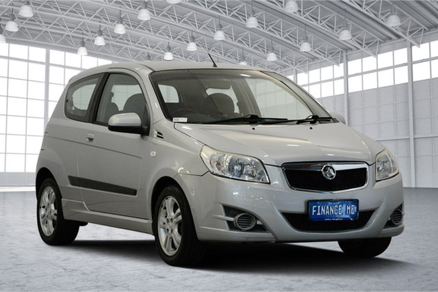 Used Holden Barina TK MY10 , 2010 Holden Barina TK MY10 Silver 5 Speed Manual Hatchback