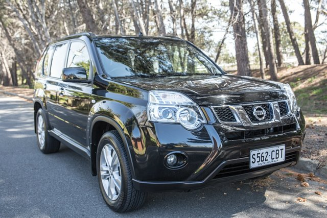 Used Nissan X-Trail T31 Series V ST-L, 2012 Nissan X-Trail T31 Series V ST-L Black 1 Speed Constant Variable Wagon