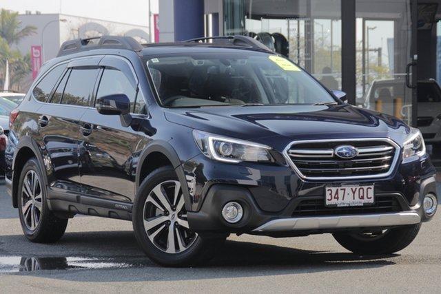 Demo Subaru Outback B6A MY18 2.5i CVT AWD Premium, 2018 Subaru Outback B6A MY18 2.5i CVT AWD Premium Dark Blue 7 Speed Constant Variable Wagon