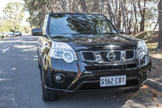 2012 Nissan X-Trail T31 Series V ST-L Black 1 Speed Constant Variable Wagon.