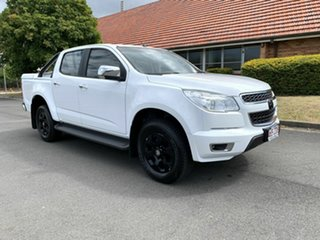 2015 Holden Colorado RG LTZ White 6 Speed Automatic Dual Cab.