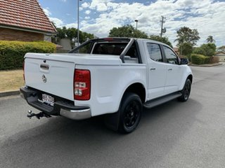 2015 Holden Colorado RG LTZ White 6 Speed Automatic Dual Cab