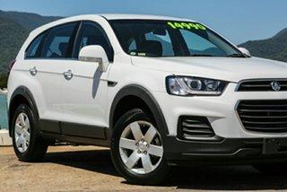 2015 Holden Captiva CG MY15 7 LS White 6 Speed Semi Auto Wagon.