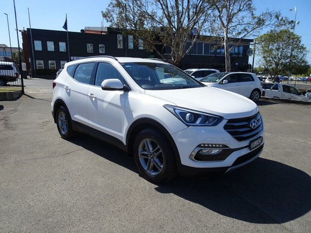 Used Hyundai Santa Fe DM3 MY16 Active, 2016 Hyundai Santa Fe DM3 MY16 Active White 6 Speed Sports Automatic Wagon