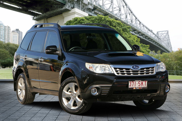 Used Subaru Forester S3 MY12 XT AWD, 2012 Subaru Forester S3 MY12 XT AWD Black 4 Speed Sports Automatic Wagon