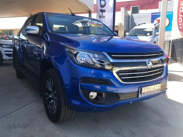 Demo Holden Colorado RG MY19 LTZ (4x4) (5Yr), 2018 Holden Colorado RG MY19 LTZ (4x4) (5Yr) Power Blue 6 Speed Automatic Crew Cab Pickup