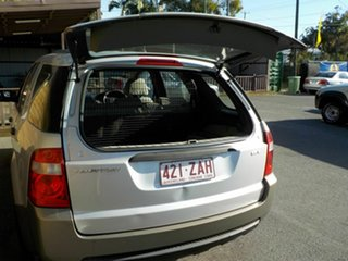 2007 Ford Territory SY TX AWD Silver 6 Speed Sports Automatic Wagon