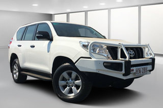 2016 Toyota Landcruiser Prado GDJ150R MY16 GX (4x4) Glacier White 6 Speed Automatic Wagon.