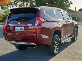 2018 Mitsubishi Pajero Sport QE MY18 GLS Maroon 8 Speed Sports Automatic Wagon
