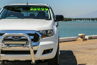2015 Ford Ranger PX MkII XL Double Cab 4x2 Hi-Rider White 6 Speed Sports Automatic Utility