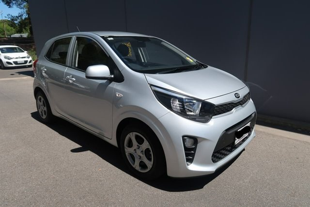 Demo Kia Picanto JA MY19 S, 2019 Kia Picanto JA MY19 S Silver 4 Speed Automatic Hatchback