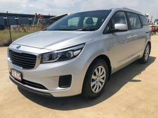 2017 Kia Carnival YP MY18 S Silver 6 Speed Sports Automatic Wagon