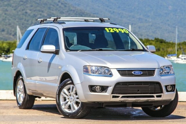 Used Ford Territory SY MkII TS RWD, 2009 Ford Territory SY MkII TS RWD Silver 4 Speed Sports Automatic Wagon