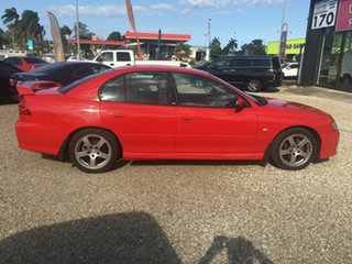 2005 Holden Commodore VZ SV6 Red 5 Speed Automatic Sedan