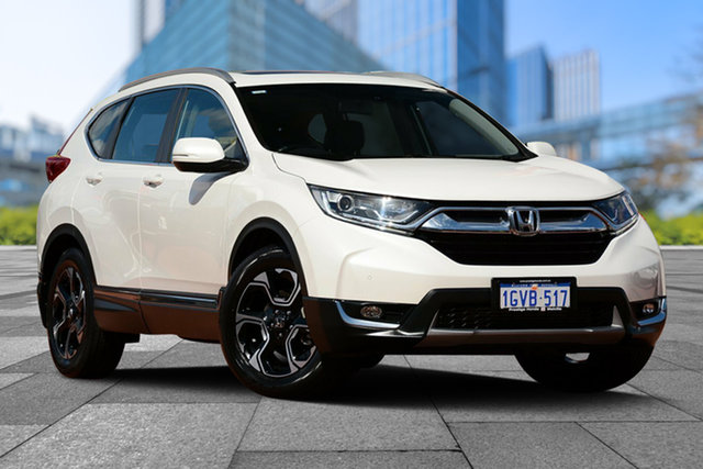 Used Honda CR-V RW MY18 VTi-L FWD, 2018 Honda CR-V RW MY18 VTi-L FWD White Orchid 1 Speed Constant Variable Wagon