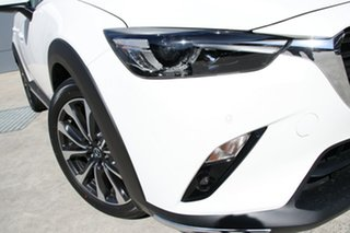 2019 Mazda CX-3 DK2W7A sTouring SKYACTIV-Drive FWD Snowflake White 6 Speed Sports Automatic Wagon.