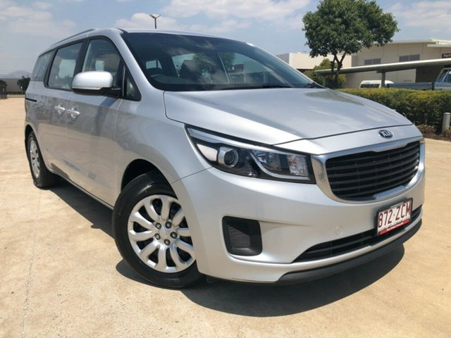 Used Kia Carnival YP MY18 S, 2017 Kia Carnival YP MY18 S Silver 6 Speed Sports Automatic Wagon