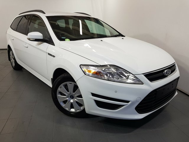 Used Ford Mondeo MC LX PwrShift TDCi, 2013 Ford Mondeo MC LX PwrShift TDCi White 6 Speed Sports Automatic Dual Clutch Wagon