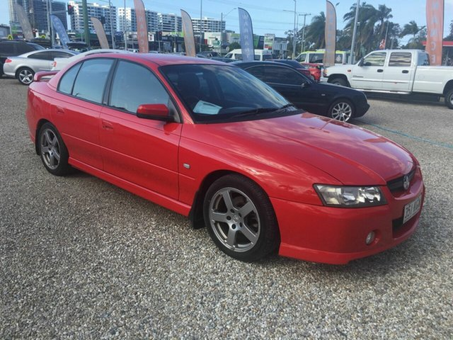 Used Holden Commodore VZ SV6, 2005 Holden Commodore VZ SV6 Red 5 Speed Automatic Sedan