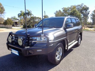 2016 Toyota Landcruiser VDJ200R MY16 GXL (4x4) Graphite 6 Speed Automatic Wagon
