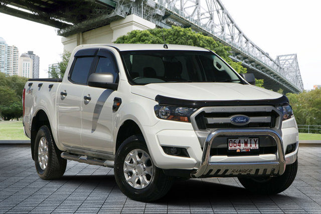 Used Ford Ranger PX MkII XLS Double Cab, 2016 Ford Ranger PX MkII XLS Double Cab White 6 Speed Sports Automatic Utility