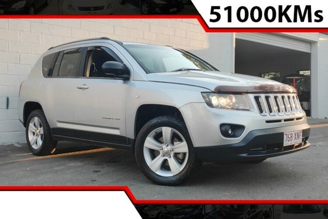 Used Jeep Compass MK MY14 Sport, 2013 Jeep Compass MK MY14 Sport Silver 6 Speed Sports Automatic Wagon