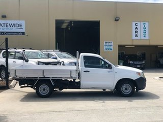 2007 Toyota Hilux TGN16R 07 Upgrade Workmate White 5 Speed Manual Cab Chassis