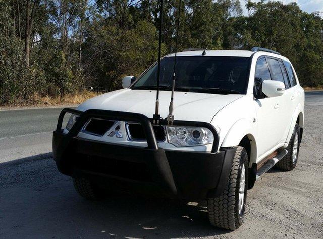 Used Mitsubishi Challenger PB (KH) MY13 LS, 2012 Mitsubishi Challenger PB (KH) MY13 LS White 5 Speed Sports Automatic Wagon